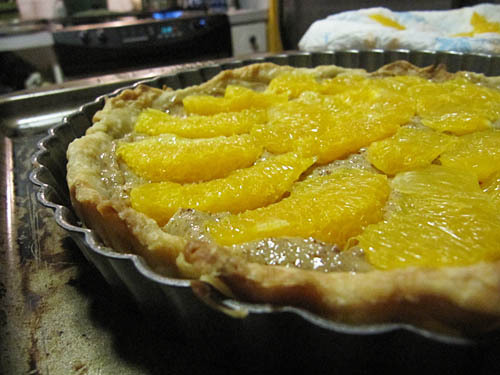 Almond Orange Tart