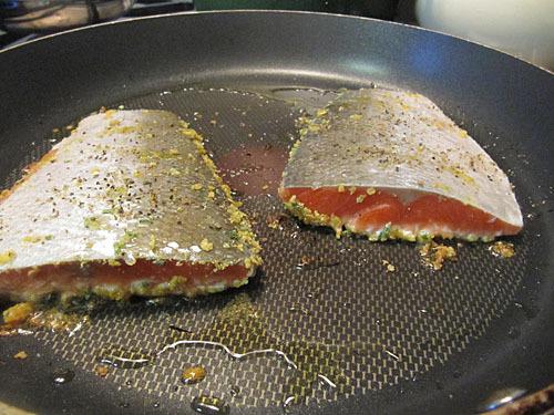 cornflake crusted fish