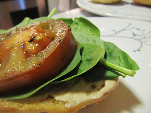 Herbed Lamb Burger