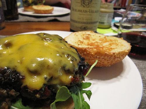 Cafe Salle Pleyel Hamburger