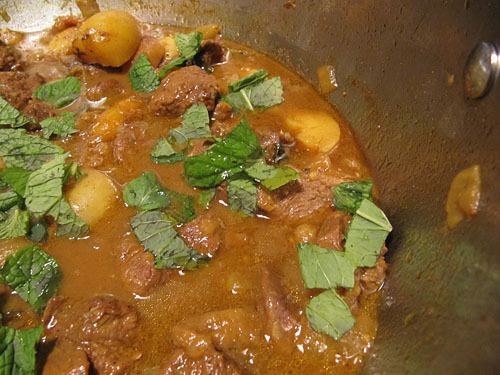 lamb cardamom curry