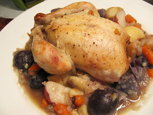m. jacques armagnac chicken