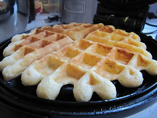 Rosemary Buttermilk Waffles