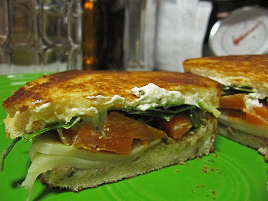 Grilled Moroccan Carrot Sandwich