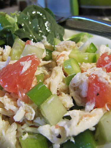 Crab & Grapefruit Salad