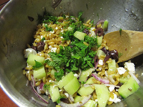 Kamut Berry Salad