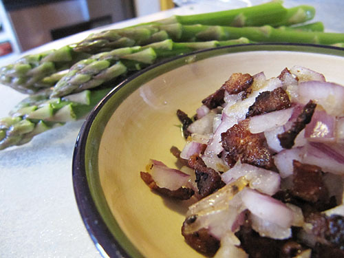 Asparagus & Bits of Bacon