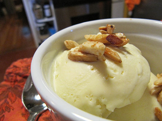 Olive Oil Ice Cream