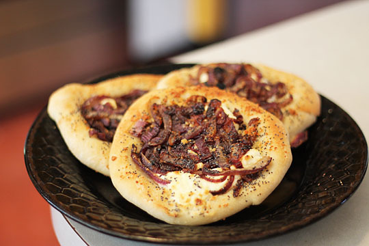 Cream Cheese & Onion Bialy