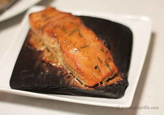 Cedar Plank Coho Salmon