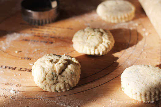 Wheat Germ and Herb Biscuits