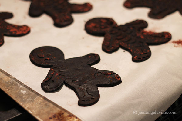 Chocolate Fireplace Cookies