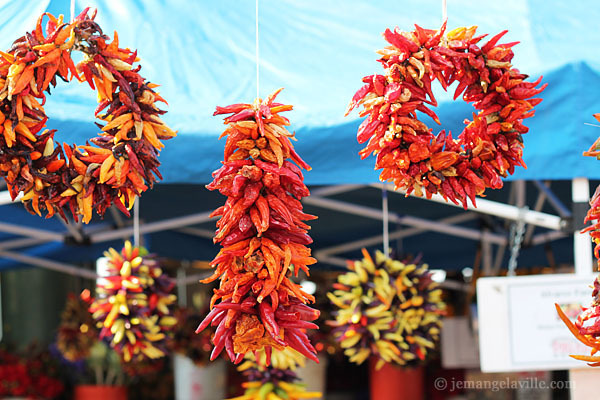 Seattle Pike Place Market Chili Wreaths