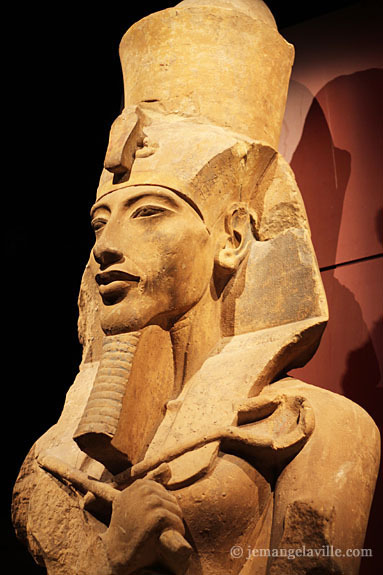 Seattle King Tut Exhibit Akhenaten