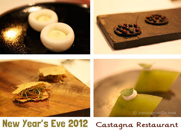 New Year's Eve at Castagna Restaurant Portland, Oregon