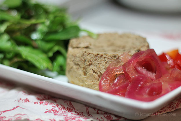 FFwD: Chicken Liver Gteau with Pickled Onions