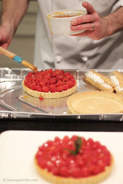 Valentine's Day Dessert: Raspberry Tart