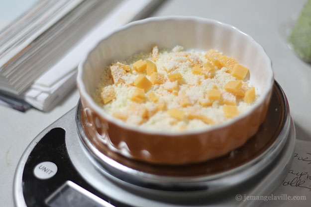 Cheesy Crème Brûlée