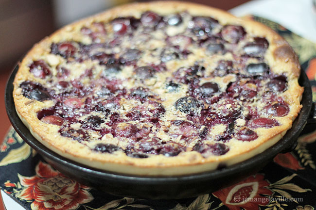 Cherry Buttermilk Clafoutis