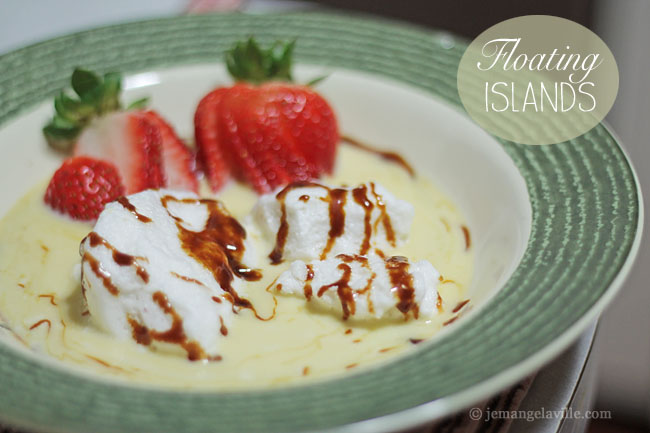French Fridays with Dorie: Floating Island