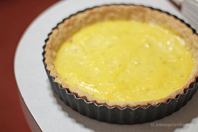 Rosemary Lemon Meringue Tart