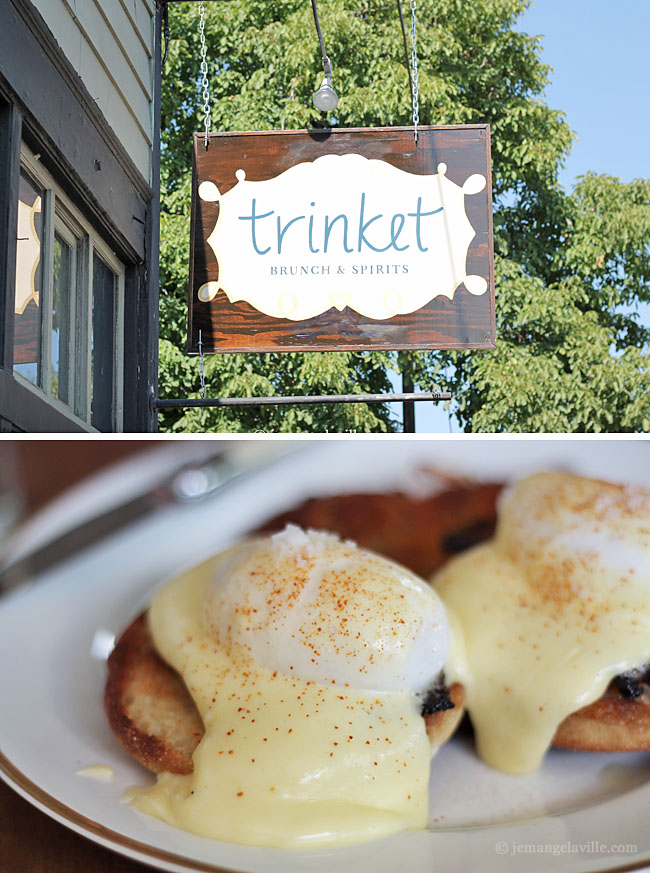 Trinket Restaurant for brunch, Portland, OR