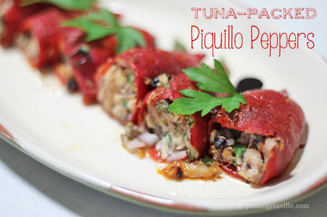 FFwD: Tuna Packed Piquillo Peppers