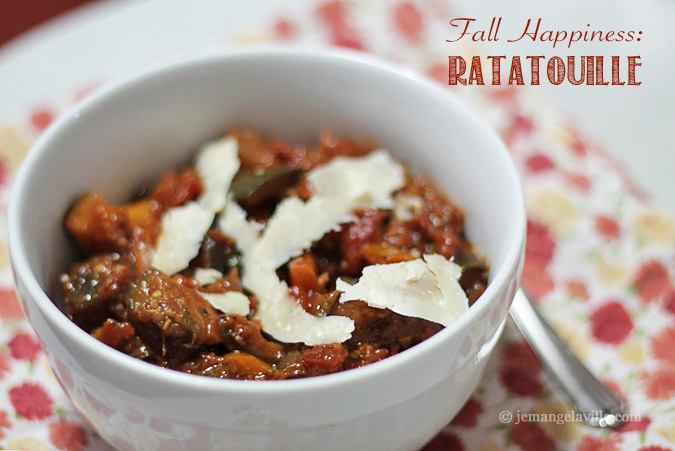 A Recipe for Fall Happiness: Ratatouille