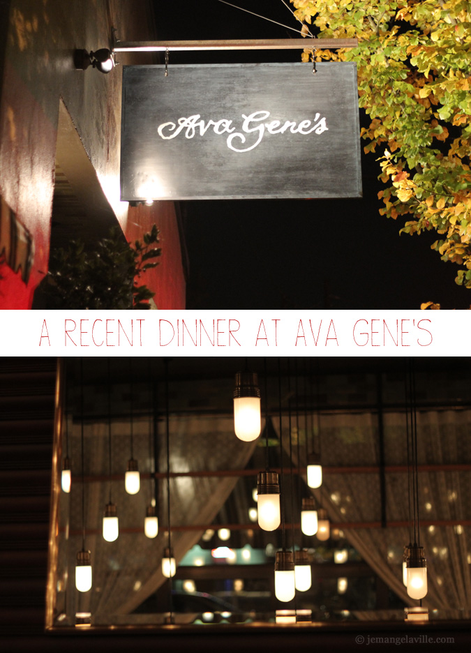 SE Portland's Ava Gene's