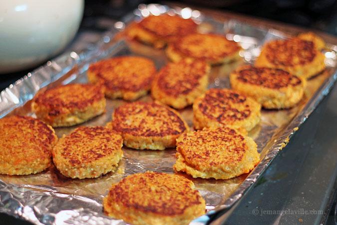 Yam and Quinoa Cakes from Portland's Sunshine Tavern