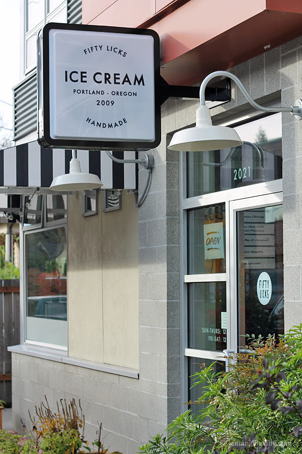 An Ice Cream Social at Fifty Licks in SE Portland