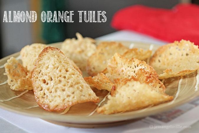 Orange-Almond Tuiles