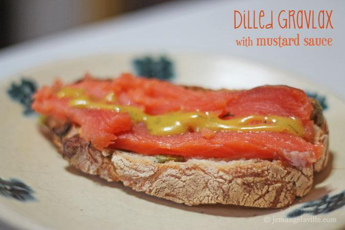 FFwD: Dilled Gravlax with Mustard Sauce