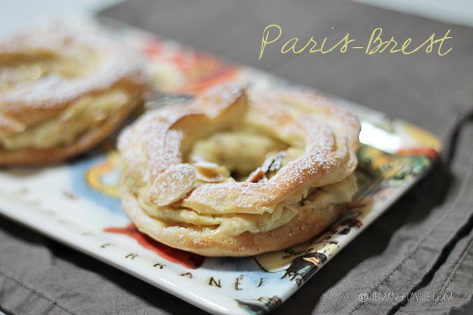 FfwD: Paris-Brest pastry