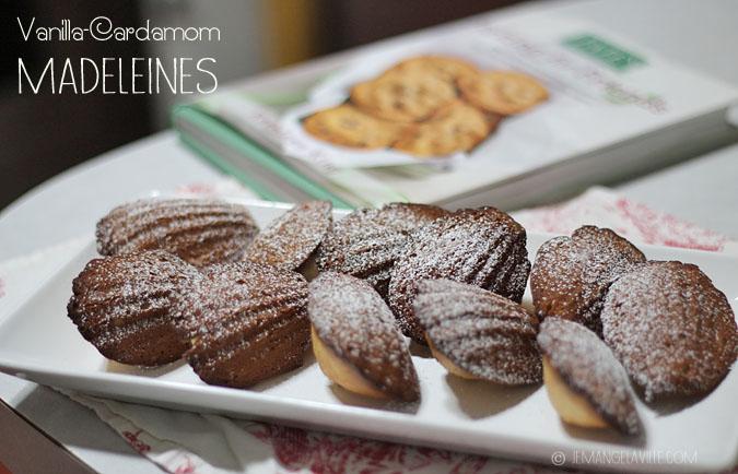 Food Blogger Cookbook Swap: Vanilla-Cardamom Madeleines & Tate's ...