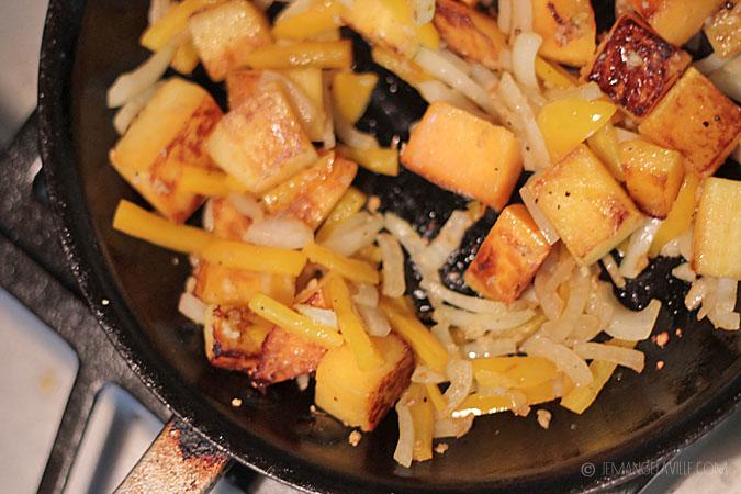 Harissa-Stewed Butternut Squash