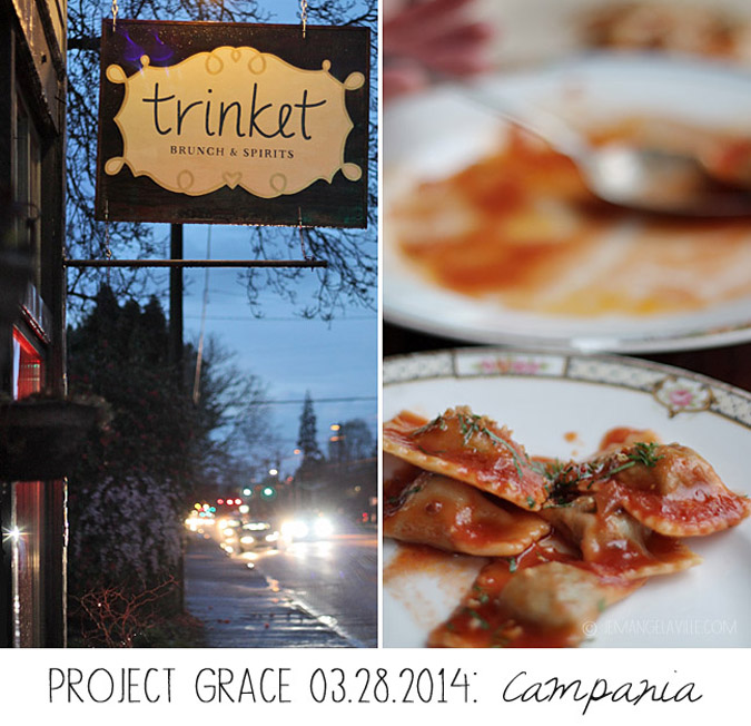 Project Grace Pop-up: Campania Dinner, Portland