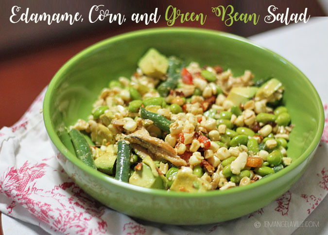 Edamame, Corn, and Green Bean Salad